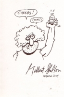 Fat Freddy' by Gilbert Shelton Comic Art