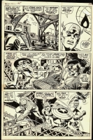 Captain America #138 SPIDEY, CAP, and FALCON (�1971) Comic Art