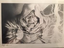 Dr Doom by Jay Anacleto Comic Art