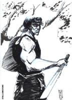 Eli Minaya Brings Rambo Comic Art