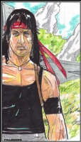 Jesus Antonio: Rambo Comic Art