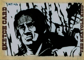 Mike Torrance Presents Rambo Comic Art