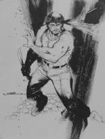 Uko Smith Draws First Blood! Comic Art
