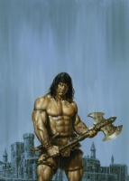 Conan the Barbarian Comic Art