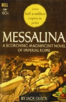 Messalina Published Paperback Cover Comic Art
