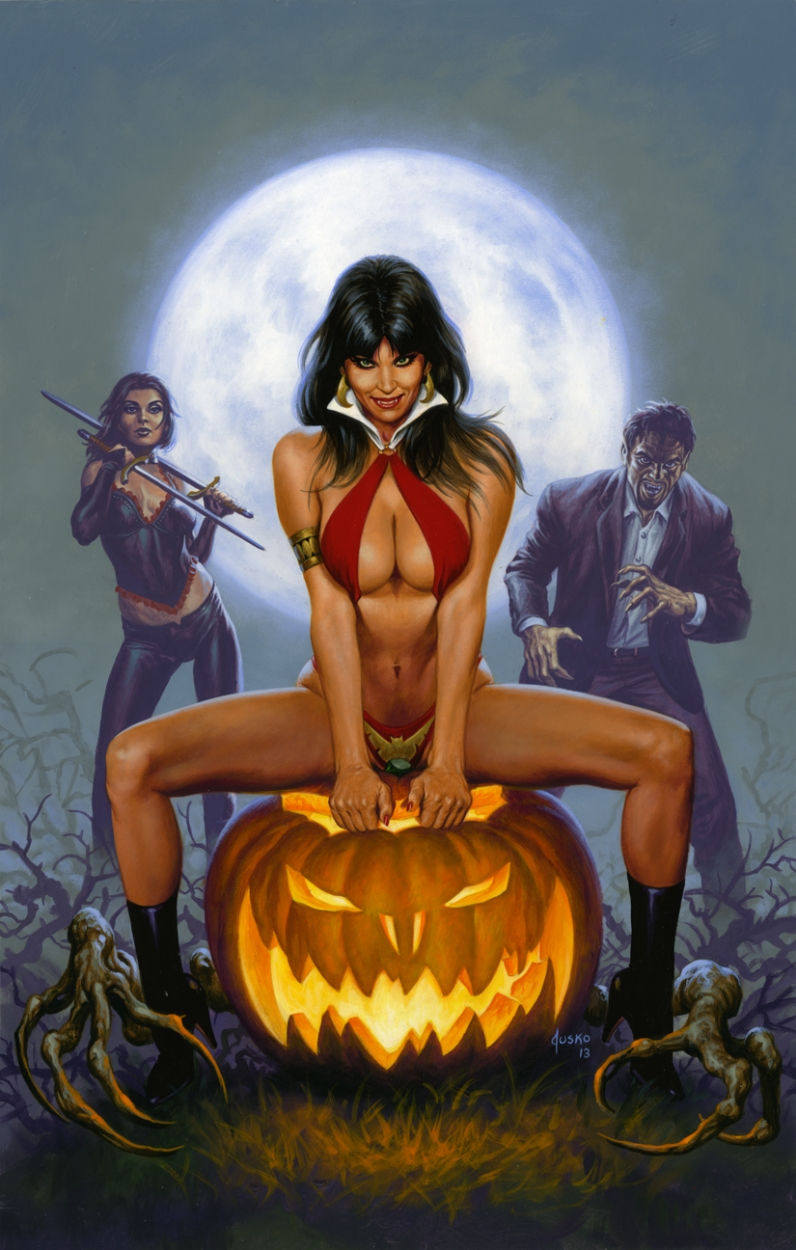 VAMPIRELLA 2013 HALLOWEEN SPECIAL Comic Art