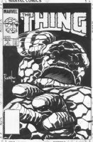 The Thing #6 Cover Comic Art