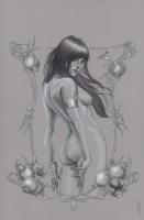 Vampirella #10 cover tonal, Comic Art