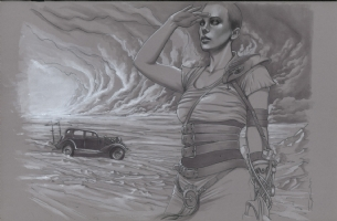 Mad Max:Fury Road - Inspired Artists p.15-16, Comic Art
