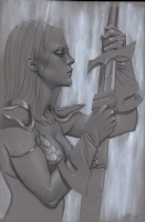Red Sonja #6 tonal, Comic Art
