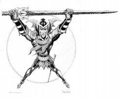 Elric Of Melnibone #6 Cover Comic Art
