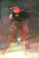 Elektra Assassin #8 Splash Comic Art
