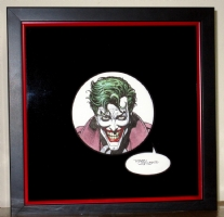 1989 Joker Wristwatch Art, Comic Art