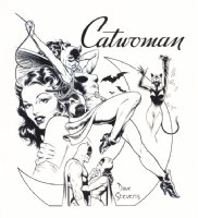 Catwoman from Who's Who in the DC Universe Comic Art