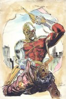 Deathlok Color Pin-up, Comic Art