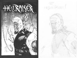 Jason Moore (Kelley Jones Hellraiser Cenobite design) Comic Art