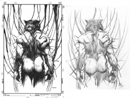 Rafael Kayanan (Barry Windsor Smith unused Weapon X cover) Comic Art