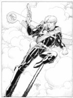 Longshot Pin-up Recreation, Comic Art