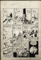 Batman #11, p.13 (June/July 1942)  Comic Art