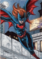 DC Comics 'Women of Legend' Batwoman Sketch Card, Comic Art