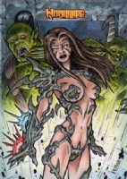 Witchblade Artist Proof 1, Comic Art