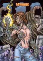 Witchblade Sketch Card 1, Comic Art
