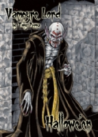 Hallowe'en: Vampyre Lord Chase Card Art, Comic Art