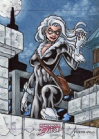 Black Cat - Dangerous Divas 2, Comic Art
