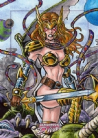 Angela - Dangerous Divas 2, Comic Art
