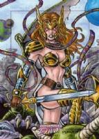 Angela - Dangerous Divas 2, Comic Art