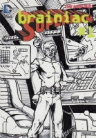 Brainiac 5 - Oversized Sketch Card, Comic Art