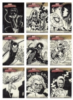 2008 Marvel Masterpieces Sketch Cards Comic Art