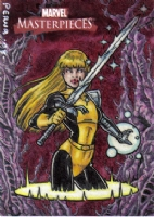 2008 Marvel Masterpieces Magik AP Comic Art