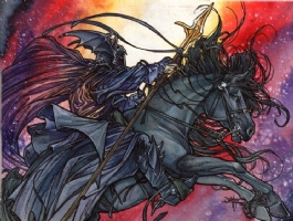 Uvatha The Horseman, Comic Art