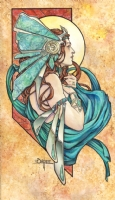 Turquoise, Comic Art