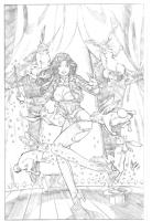 Zatanna - Cesar Gaspar Comic Art