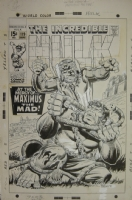 Incredible Hulk #119 cover Comic Art