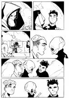 STAR WARS TALES #7 NERF HERDER, pg 4 Comic Art