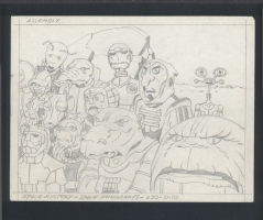 Jack Kirby Alien Animation Comic Art