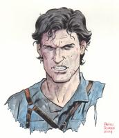 Paolo Rivera, Ash from Evil Dead, Comic Art