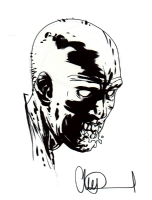 Charlie Adlard, Walking Dead Zombie, Comic Art