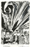 Batman Unpublished Cover - Ted McKeever, Comic Art
