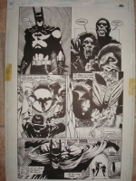 Kelley Jones - Batman pg Comic Art