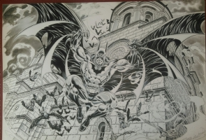 Castellini - Batman in Macedonia Comic Art