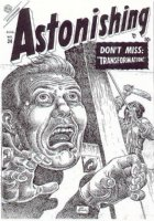 ASTONISHING #34 (Aug/54) Comic Art