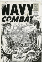 NAVY COMBAT #6 (Apr/56) Comic Art