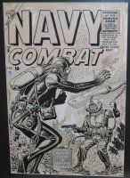 NAVY COMBAT #5 (Feb/56) Comic Art