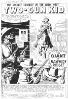 TWO-GUN KID #42 (June58) story 1, p.1 Comic Art