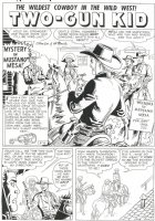 TWO-GUN KID #42 (June58) story 2, p.1 Comic Art