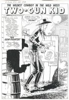 TWO-GUN KID #42 (June58) story 3, p.1  Comic Art